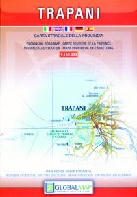 Carta stradale della provincia di Trapani - Global Map -