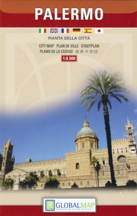 Pianta del centro storico di Palermo - Global Map -