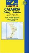 Carta stradale della Calabria - Belletti -