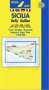 Carta stradale della Sicilia - Belletti -
