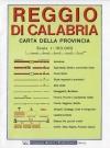 Carta stradale della provincia di Reggio Calabria - Global Map -